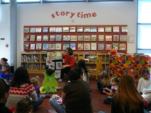 """Event: Santa Teresa Branch Library Halloween theme Preschool Storytime"" from the San Jose Library via Flickr Creative Commons"